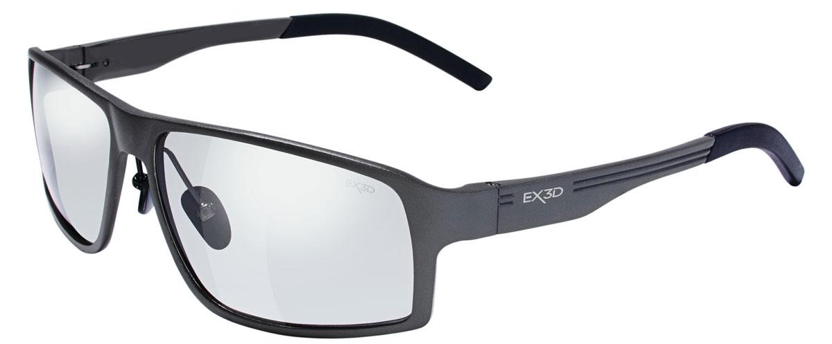 EX3D 5009/015 Player 3D поляризационные очкиEX3D5009/015Очки EX3D Player сочетают в себе запатентованную M3D технологию линз и стильный, модный дизайн. Данные очки помогают оптимизировать 3D-просмотр одновременно предлагая защиту от UVA / UVB лучей. Эта 3D-модель внешне не отличается от стильных солнцезащитных очков. Изящно изогнутые фотохромные линзы очков прекрасно адаптируются к условиям освещенности и на 100 % защищают глаза от ультрофиолета, когда вы находитесь на улице. Инновация состоит в том, что эти же очки позволяют видеть трехмерное изображение в кинотеатре или на экране телевизора. Линзы, которые используются в EX3D Player выпуклые, они качественно превосходят повсеместно используемые в кинотеатрах плоские. Зритель видит четкую объемную картинку без искажений и двоения с любого места в кинозале. Линзы имеют твердое защитное покрытие, предохраняющее от царапин. Они могут быть использованы пользователями, которые используют контактные линзы. Теперь вы можете наслаждаться фильмами с...