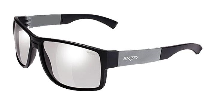 EX3D 5008/001 Stricker 3D поляризационные очкиEX3D5008/001Очки EX3D Stricker сочетают в себе запатентованную M3D технологию линз и стильный, модный дизайн. Данные очки помогают оптимизировать 3D-просмотр одновременно предлагая защиту от UVA / UVB лучей. Эта 3D-модель внешне не отличается от стильных солнцезащитных очков. Изящно изогнутые фотохромные линзы очков прекрасно адаптируются к условиям освещенности и на 100 % защищают глаза от ультрофиолета, когда вы находитесь на улице. Инновация состоит в том, что эти же очки позволяют видеть трехмерное изображение в кинотеатре или на экране телевизора. Линзы, которые используются в EX3D Stricker выпуклые, они качественно превосходят повсеместно используемые в кинотеатрах плоские. Зритель видит четкую объемную картинку без искажений и двоения с любого места в кинозале. Линзы имеют твердое защитное покрытие, предохраняющее от царапин. Они могут быть использованы пользователями, которые используют контактные линзы. Теперь вы можете наслаждаться фильмами ...