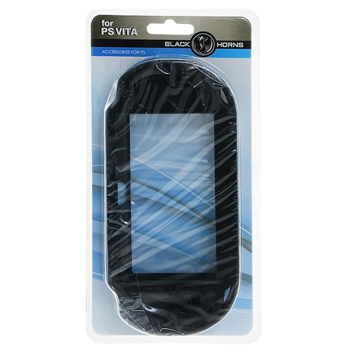 Защитный металлический чехол Black Horns для PS Vita (черный)BH-PSV0201(R)Защитный металлический чехол Black Horns - это наиболее надежная и прочная защита для вашей PS Vita от грязи, царапин, потертостей. Чехол изготовлен из поликарбоната с металлическими вставками для большей прочности Вам будут доступны все кнопки управления и разъемы: джойстик, слот для карты памяти