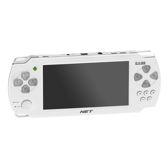 Портативная игровая консоль EXEQ NET (белая)