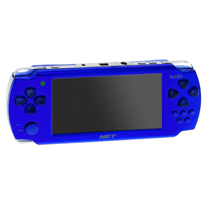 Портативная игровая консоль EXEQ NET (синяя)