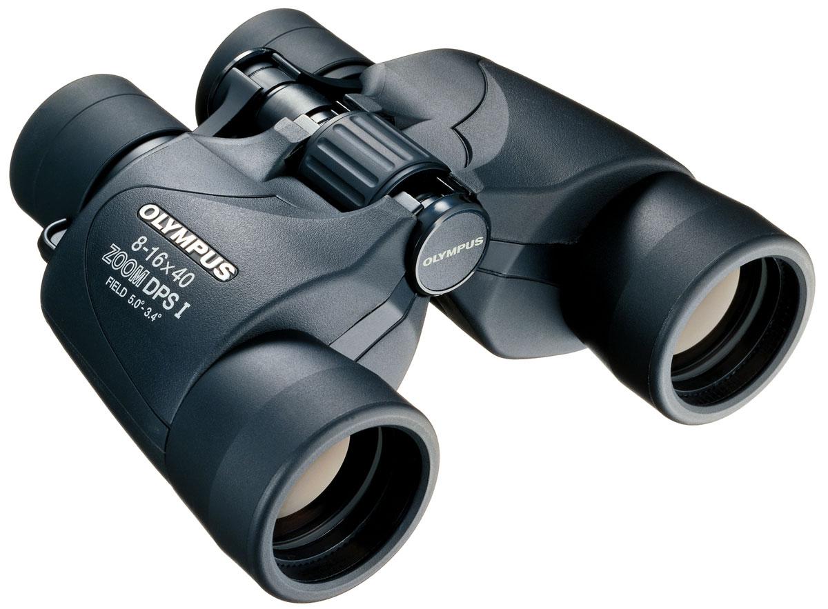 Olympus 8-16x40 Zoom DPS I бинокльN1240582Бинокль Olympus DPS-I Zoom 8-16x40 станет отличным выбором для наблюдения за природой. Корпус с прочным покрытием выдержит любую погоду, а прорезиненное покрытие рукоятки гарантирует, что бинокль не выскользнет у Вас из рук. Мощный зум поможет приблизить наблюдаемый объект, а если не использовать зум, то этот бинокль обеспечивает отличное качество и при плохом освещении. Антибликовое покрытие линз гарантирует высокую яркость и контраст. С этим биноклем Вы отлично подготовлены для наблюдения за природой. Защита от ультрафиолетовых лучей Линзы с многослойным просветляющим покрытием Удобный центральный диск для быстрой фокусировки Максимальное расстояние от окуляра до глаз: 10-12 мм Расстояние между оптическими осями окуляров: 60-70 мм Однослойное покрытие линз