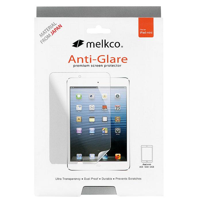 Melkco защитная пленка для iPad Mini, антибликоваяAPIPMNSPAT1Антибликовая пленка Melkco отлично защищает экран Вашего Pad Mini от царапин, уменьшает блики и может быть удалена в любое время.