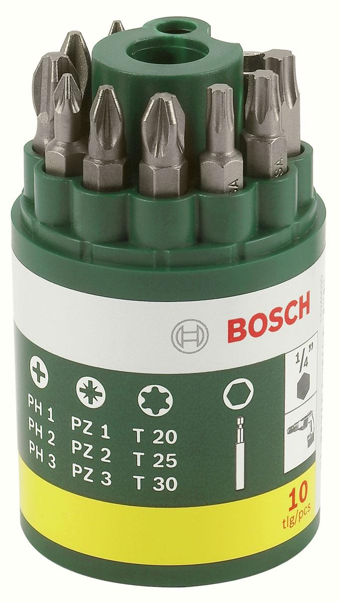Набор из 9 бит + универсальный держатель Bosch 2607019452