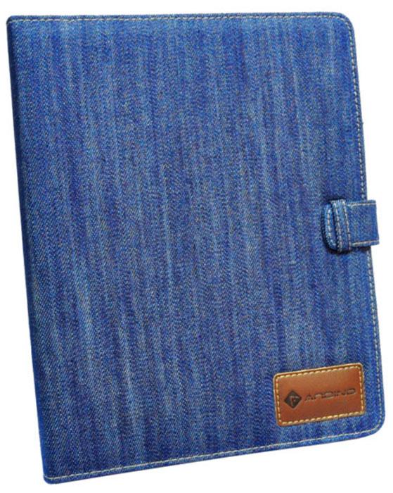 Andino Texas Blue чехол для iPad6122Функциональный и стильный чехол Andino изготовлен из джинсовой ткани, который защитит Ваш любимый гаджет от пыли и грязи, поможет при ударах и падениях, смягчая удары, не позволяя образовываться на корпусе царапинам и потертостям. Данный чехол подчеркнет Ваш стиль и станет отличным дополнением к имиджу.