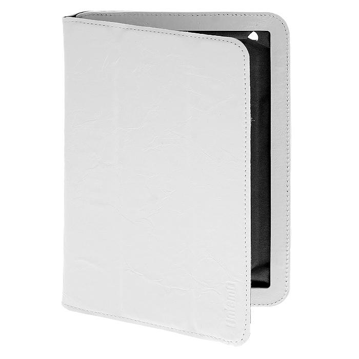 Untamo Timber чехол для iPad mini, Ermin White (UTIMMINIEWH)UTIMMINIEWHКожаный чехол Untamo Timber для iPad mini - ультратонкий чехол ручной работы из натуральной кожи премиум-класса. Он идеально дополняет изящные формы вашего устройства и является стильным и элегантным аксессуаром. Легкий и точно раскроенный аксессуар из натуральной кожи высокого качества дополняет изысканность планшета и обеспечивает всестороннюю защиту. Деликатная внутренняя отделка из микрофибры оберегает от повреждений, а также устраняет следы пальцев и пыль с экрана устройства. Untamo Timber служит не только защитой повреждений, но и является также удобной подставкой для комфортной работы с текстом, изображениями и видео-файлами. Магнитная крышка чехла Untamo Timber позволяет задействовать функцию автоматического запуска / отключения устройства при открывании / закрывании чехла. Чехлы Untamo Timber производятся в широкой насыщенной цветовой гамме.