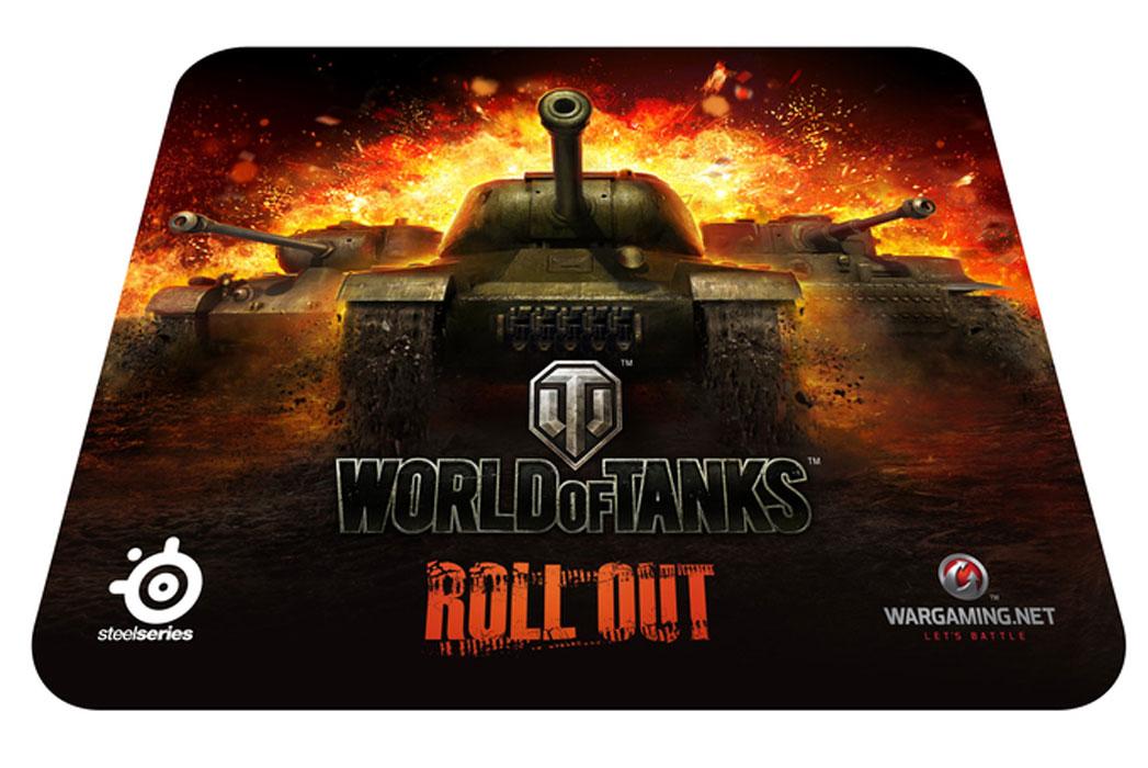 Steelseries QcK World of Tanks Edition (67269) коврик для мыши