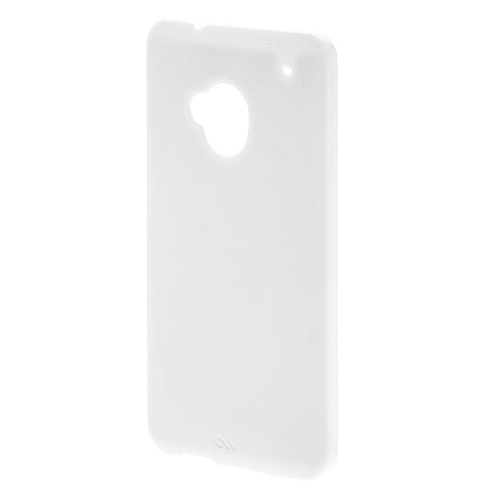 Case-Mate Barely There чехол для HTC One, White (CM027166 BT)CM027166 BTТонкий пластиковый чехол Case-Mate Barely There для HTC One закрывает заднюю поверхность и торцы телефона и обеспечивает надежную защиту устройства от ударов, царапин, пыли и грязи.