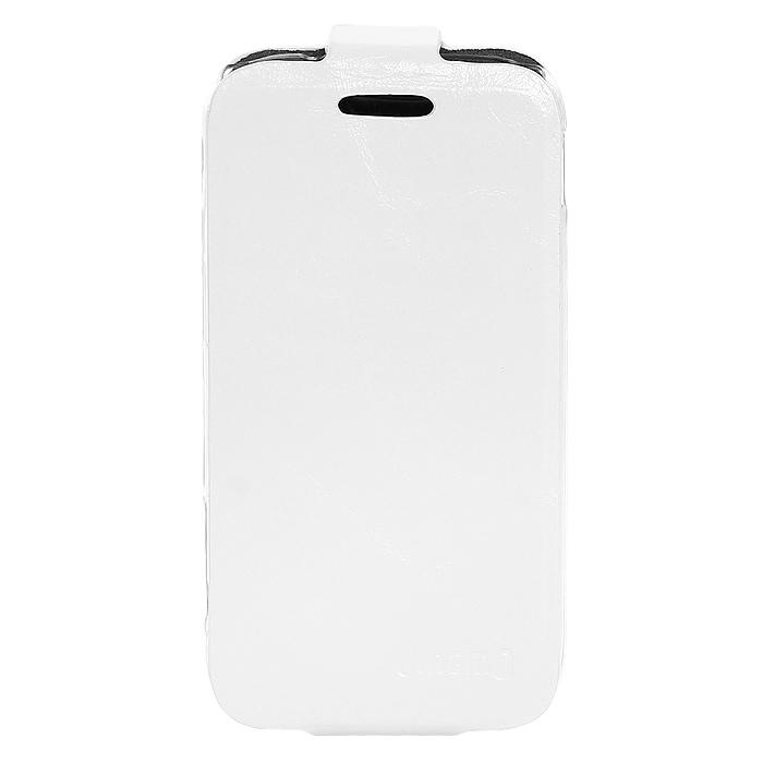 Untamo Timber чехол-флип для Samsung Galaxy Ace II Ermin, White (UTIMFACE2EWH)