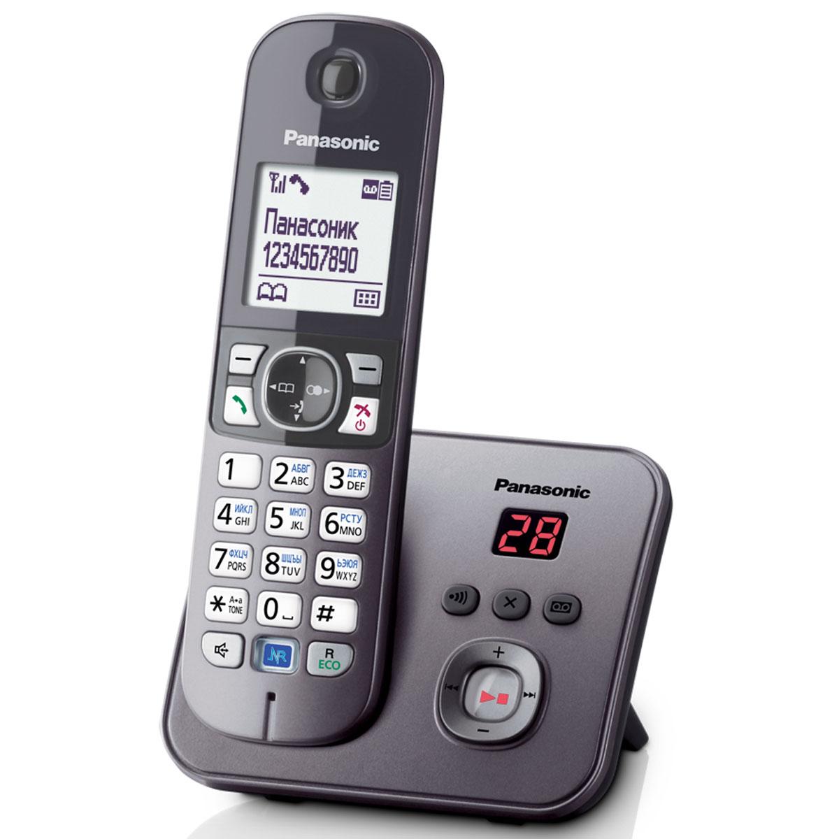 Zakazat.ru: Panasonic KX-TG6821 RUM DECT телефон