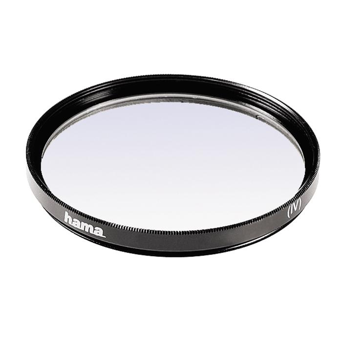 Hama O-Haze 390, 55 mm ультрафиолетовый фильтрH-70055Hama O-Haze 390 предназначен специально для защиты от ультрафиолетового излучения, а также позволяет повысить четкость и контрастность изображения во время съемки при ярком солнечном свете. Тонкая оправа данного фильтра снижает вероятность виньетирования.