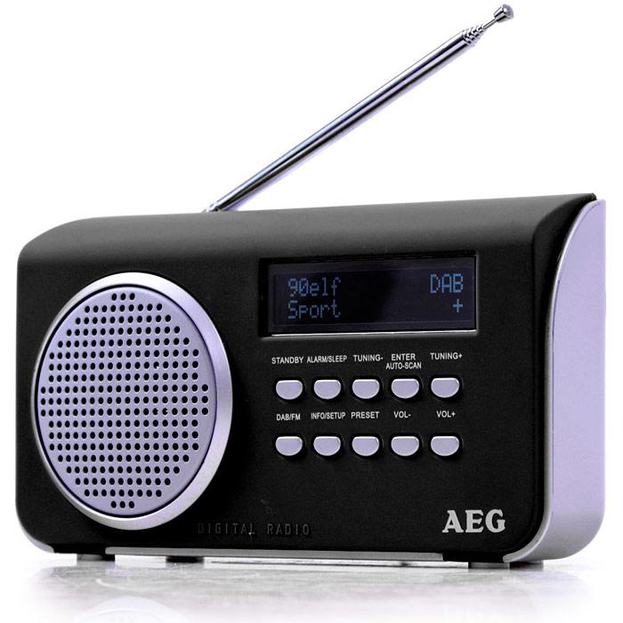 AEG DAB 4130, Black радиоприемник