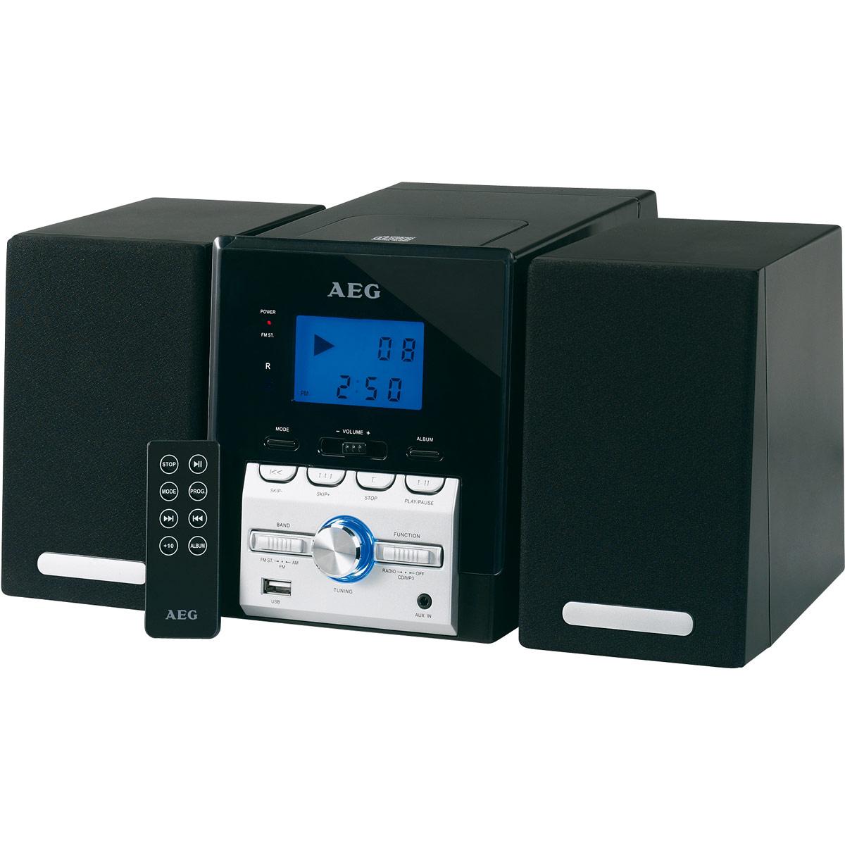 AEG MC 4443, Black микросистема