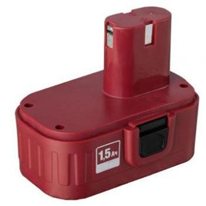 ЗУБР ЗАКБ-18 аккумуляторная батарея для шуруповертов, 1,5А/ч, 18ВЗАКБ-18Акумуляторная батарея ЗУБР предназначена для питания Ni-Cd дрелей-шуруповертов ЗУБР. С целью увеличения срока службы аккумулятора, рекомендуется для зарядки использовать импульсное быстрозарядное устройство ЗБЗУ-У. Предусмотрена защита батареи от перегрева. Корпус изготавливается из прочного ABS-пластика. Имеется возможность восстановления уровня заряда даже после полного разряда батареи. Длительное хранение батареи не влияет на ее работоспособность.