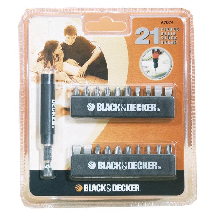 Black&Decker A7074 набор бит для отвертки Black & Decker