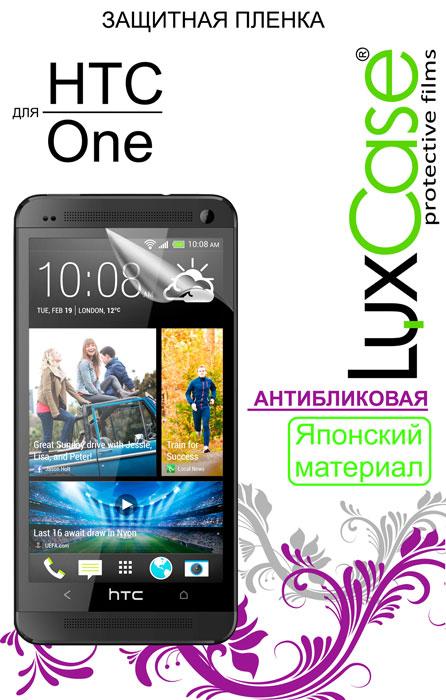 Luxcase защитная пленка для HTC ONE, M7, антибликовая