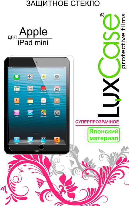 Luxcase защитное стекло для Apple iPad mini, защитное стекло80283Защитная пленка для Apple iPad mini - это универсальная защитная пленка, предохраняющая дисплей Вашего электронного устройства от возможных повреждений. Размеры пленки полностью совместимы с Apple iPad mini. Выбирая защитные пленки LuxCase - Вы продлеваете жизнь сенсорному экрану приобретенного вами мобильного устройства. Защитные пленки LuxCase удобны в использовании и имеют антибликовое покрытие. Благодаря использованию высококачественного японского материала пленка легко наклеивается, плотно прилегает, имеет высокую прозрачность и устойчивость к механическим воздействиям. Потребительские свойства и эргономика сенсорного экрана при этом не ухудшаются. Защитные пленки LuxCase не искажают изображение, приклеиваются легко и ровно. Данная пленка темного оттенка.