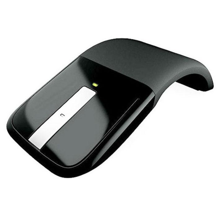 Microsoft ARC Touch Mouse беспроводная мышь (RVF-00056)RVF-00056Стильная и привлекательная, мышь Arc Touch Mouse — это больше, чем просто красивое устройство. Это свобода беспроводного подключения плюс технология Microsoft Touch, которые можно взять с собой в дорогу. Ее можно использовать в любом месте, даже на грубой деревянной поверхности или ковре, благодаря технологии BlueTrack Technology. Кроме того, можно обеспечивать беспроводное управление компьютером на расстоянии до 9 метров. Согните ее для использования, распрямите для хранения: Инновационный дизайн Arc Touch Mouse позволяет быстро приводить ее в рабочее состояние из нерабочего. Для начала работы разогните мышь. А затем плавно проведите пальцем вверх или вниз по полосе прокрутки Touch. Выполнив работу, оставьте крошечный приемопередатчик подключенным к USB-порту компьютера или уберите его в специальный магнитный отсек в нижней части мыши. Затем распрямите мышь Arc Touch Mouse, чтобы выключить ее, и положите в карман или сумку — так же, как и мобильный телефон. ...
