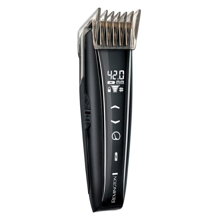 Remington НС5950 машинка для стрижкиHC5950Универсальная машинка для стрижки волос Remington HC5950. Имеет эргономичную ручку, поддерживает длину стрижки от 0.40 до 42 мм. Самозатачивающиеся лезвия 3 насадки Стрижка бороды Возможность выбора скорости (3 режима) Отображение оставшегося время работы Индикатор настройки длины Индикатор блокировки Возможность зарядки через микро USB