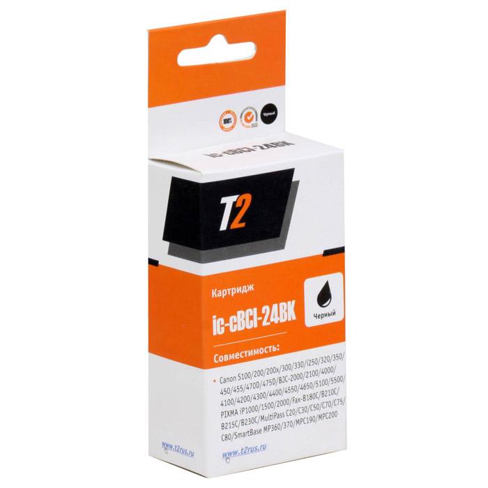 T2 IC-CBCI-24BK картридж для Canon S100/300/i250/BJC-2100/4200/5500/PIXMA iP1500/2000, Black ( IC-CBCI-24BK )