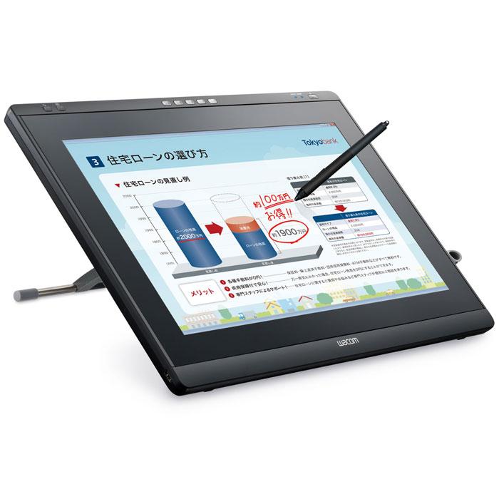 Wacom DTK-2241 21,5 монитор-планшетDTK-2241Wacom DTK-2241 - это компактный широкоэкранный дисплей Full HD 21.5 с высоким разрешением до 1920 х 1080 и широким углом обзора, который подходит для занятий и презентаций в офисе, школах и ВУЗах. Благодаря беспроводному перу Вы сможете выполнять различные действия с графическими изображениями или создавать собственные проекты.