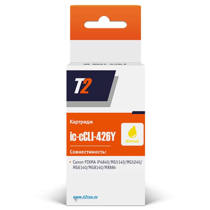 T2 IC-CCLI-426Y картридж для Canon PIXMA iP4840/MG5140/MG6140/MG8140/MX884, Yellow ( IC-CCLI-426Y )