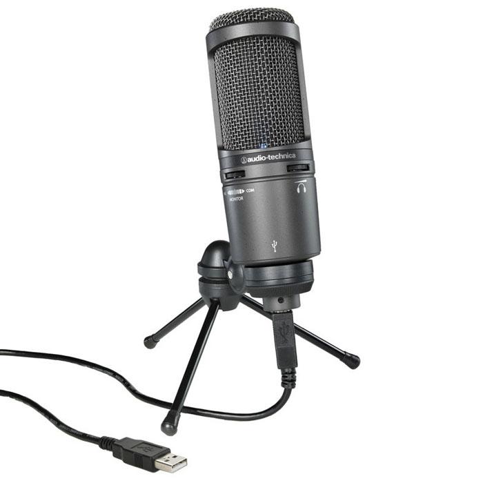 Audio-Technica AT2020USB+ микрофон студийный