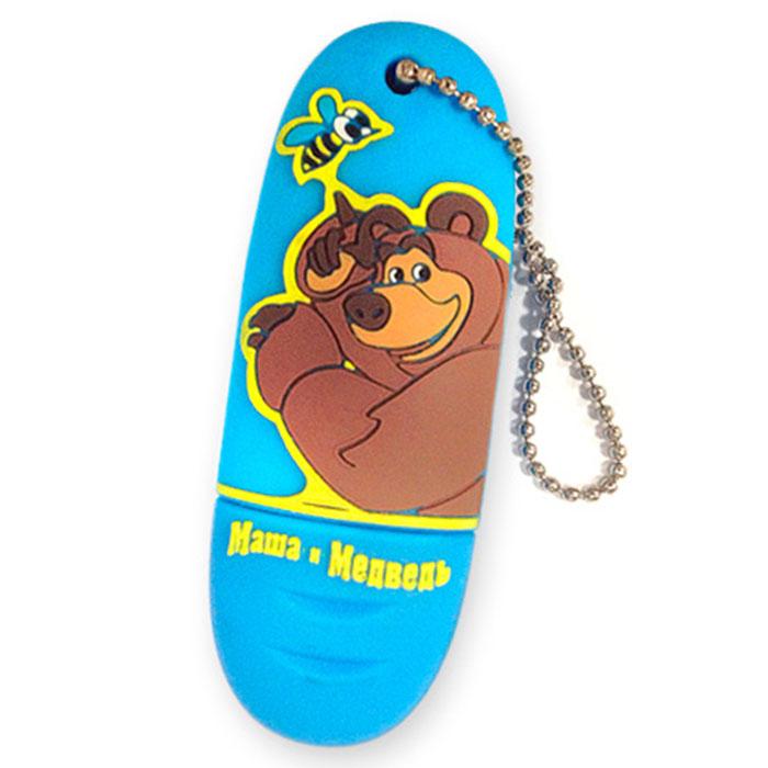 Маша и Медведь Медведь 8 GB флэш-накопитель341211Маша и Медведь - это USB накопитель сделан для любителей одноименного российского мультипликационного сериала. Флэш-накопитель удачно сочетает в себе устройство хранения данных и милый сувенир. Он может стать великолепным подарком детям или друзьям, предметом коллекционирования для всех людей, ведущих веселый и жизнерадостный стиль жизни.