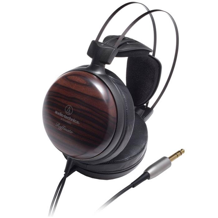 Audio-Technica ATH-W5000 наушники15110936AUDIO-TECHNICA W5000 – это закрытые динамические Hi-End наушники с двойной системой гашения колебаний. Устройство оснащено динамиками большого диаметра, которые сконструированы специально для данной модели, а также неодимовыми магнитами. В конструкцию динамика входит пермендуровый контур с исключительными магнитными характеристиками. Кроме того, в наушниках используются звуковые катушки из высококачественной бескислородной меди для ультраэффективной и точной передачи сигнала. Прочное оголовье W5000 выполнено из лёгкого магниевого сплава. Кожаные амбушюры максимально комфортно облегают ушную раковину, а чашки из полированного чёрного дерева обеспечивают превосходные акустические характеристики. Для удобства положение излучателей регулируется в трёх плоскостях.