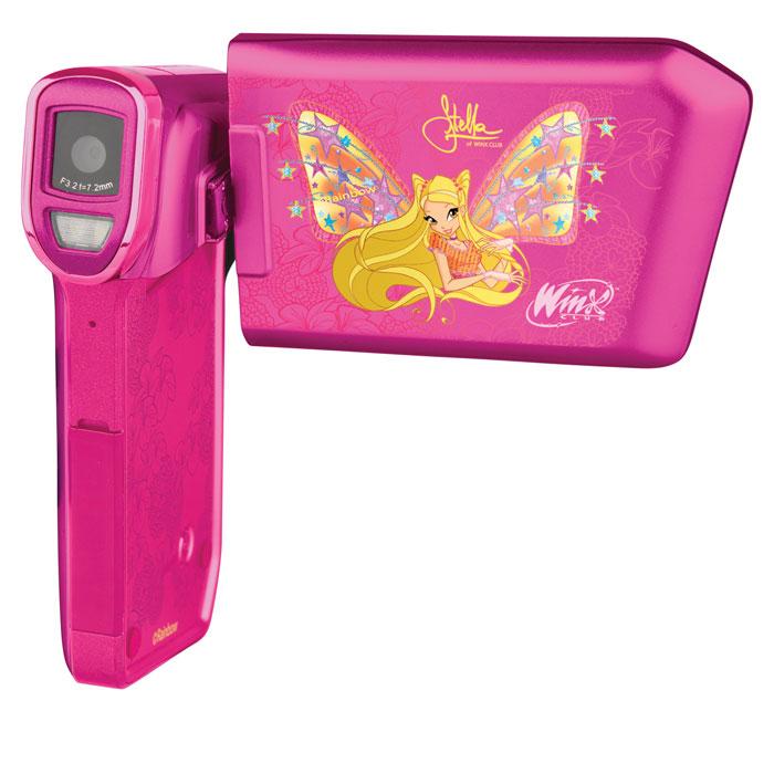 Vitek Winx 4402 Stella видеокамераWX-4402Благодаря большому объему памяти волшебная видеокамера Vitek Winx 4402 позволит снимать длинные видеоролики. Также данную видеокамеру можно использовать и как фотоаппарат. Светодиодная вспышка Поддержка карт памяти объемом до 16 ГБ Емкость аккумулятора: 800 мАч