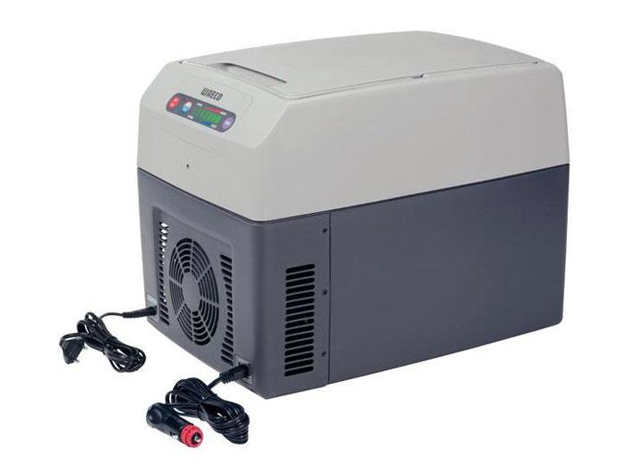 WAECO TropiCool TC-14FL мобильный холодильник 14 лTC-14FL-ACТермоэлектрический холодильник WAECO TropiCool TC-14FL со специальной TC электроникой обеспечивает охлаждение до 30°C ниже температуры окружающей среды и нагрев до +65°C. Сенсорная панель управления дает возможность индивидуально настроить температуру, выбрав один из семи уровней: от +1°C до +15°C в режиме охлаждения или от +50°C до +65°C в режиме нагрева. С помощью специальной функции можно сохранить в памяти последние настройки.