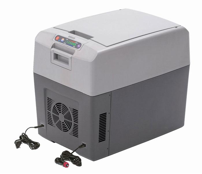 WAECO TropiCool TC-35FL мобильный холодильник 33 лTC-35FL-ACТермоэлектрический холодильник WAECO TropiCool TC-35FL со специальной TC электроникой обеспечивает охлаждение до 30°C ниже температуры окружающей среды и нагрев до +65°C. Сенсорная панель управления дает возможность индивидуально настроить температуру, выбрав один из семи уровней: от +1°C до +15°C в режиме охлаждения или от +50°C до +65°C в режиме нагрева. С помощью специальной функции можно сохранить в памяти последние настройки.