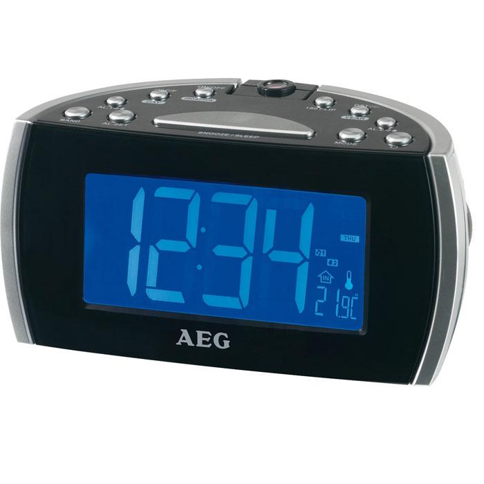 AEG MRC 4119 P, Black радиочасы