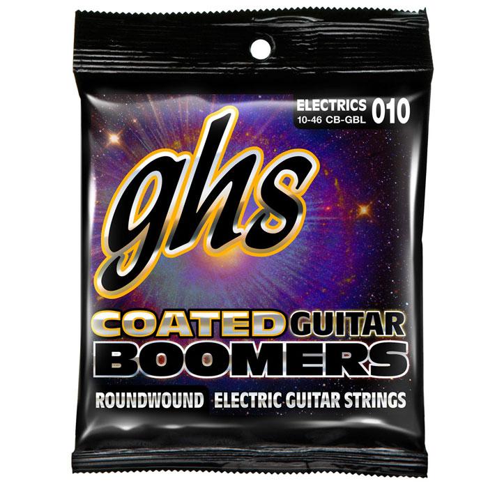 Boomers GHS CB-GBL струны для электрогитарыCB-GBLBoomers GHS CB-GBL - качественные струны для электрогитары имеют обмотку из никелированной стали, отлично звучат на различных марках гитар. Никелированная сталь Круглая обмотка Натяжение: Coated Light Толщина: 10-13-17-26w-36w-46w