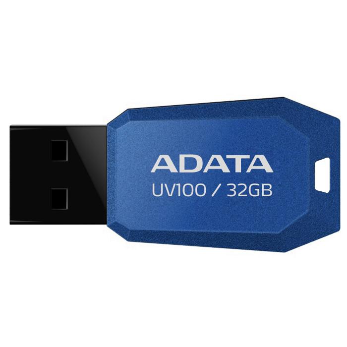 ADATA UV100 32GB, Blue флэш-накопитель