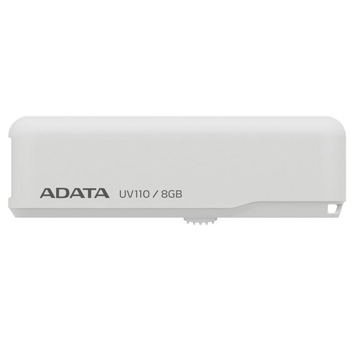 ADATA UV110 8GB, White флэш-накопитель