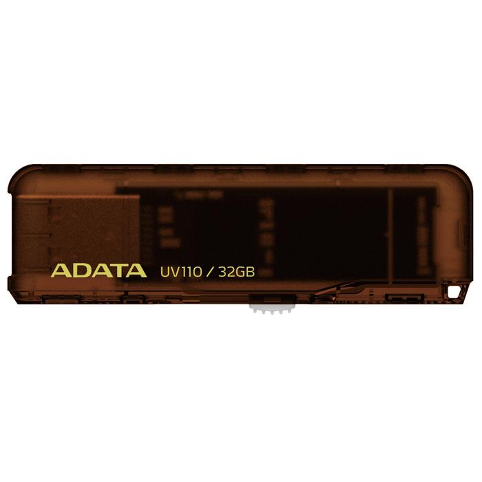 ADATA UV110 32GB, Brown флэш-накопительAUV110-32G-RBRФлеш-накопитель ADATA UV110 предназначен для тех, кто ищет экономичное устройство для хранения данных, и предлагается в четырех приятных цветовых исполнениях. Теперь вы можете щеголять флеш-накопителем USB, который соответствует вашему месту в цифровом спектре. Устройство UV110 чрезвычайно экономично и подкрепляется надежностью и обслуживанием компании ADATA. Выберите цвет, соответствующий другим вашим устройствам или просто вашему настроению: королевский синий, цветочный белый, легкий розовый и седельный коричневый - все они добавят новых ярких красок вашим портативным данным. Конструкция с выдвижным разъемом USB предотвращает износ и истирание механизма. Осторожно нажмите на фиксатор и выдвиньте разъем, а затем вставьте его прямо в порт USB на компьютере. Не нужно загружать или устанавливать никакие драйверы. После использования задвиньте разъем USB обратно, чтобы он скрылся внутри корпуса; для ношения устройства вы можете использовать цепочку...
