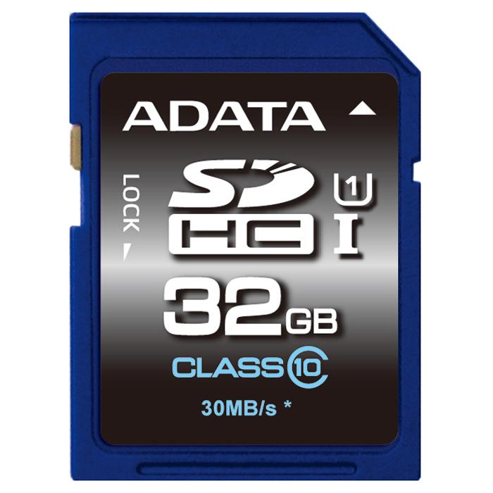 ADATA SDHC Premier UHS-I class 10, 32GBASDH32GUICL10-RКарты памяти ADATA SDHC/SDXC Premier UHS-I class 10 предназначены специально для пользователей цифровых камер. Они совместимы со спецификацией SDA 3.0, UHS-I (Ultra High Speed 1) и обратно совместимы с устройствами, отвечающими спецификации SD 2.0. 64-Гб карты памяти этой серии гарантируют скорости чтения/записи до 30/10 Мбит/с, обеспечивая более высокие производительность и надежность, и исключительную долговечность. Карты памяти серии Premier — наилучший выбор для пользователей, решивших перейти на карты памяти стандарта UHS-I U1, причем их цена сравнима с ценами более старых карт памяти класса 10. При той же цене на карты памяти 64 Гб, Вы сможете пользоваться картами памяти новейшей спецификации SD 3.0, имеющими скорости чтения/записи до 30/10 Мбит/с при скоростях произвольного чтения/записи до 1300/100 IOPS. Карты памяти Premier обеспечивают дополнительные возможности защиты данных — конструктивную защиту от рентгеновского излучения, устойчивость к...