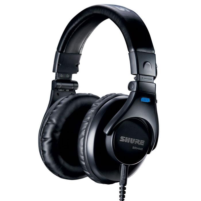 Shure SRH440 наушники10102179Shure SRH440 - профессиональные студийные наушники, обладают улучшенной частотной характеристикой для наиболее точного воспроизведения звука. Регулируемое оголовье и мягкие амбушюры позволят носить наушники долгое время.