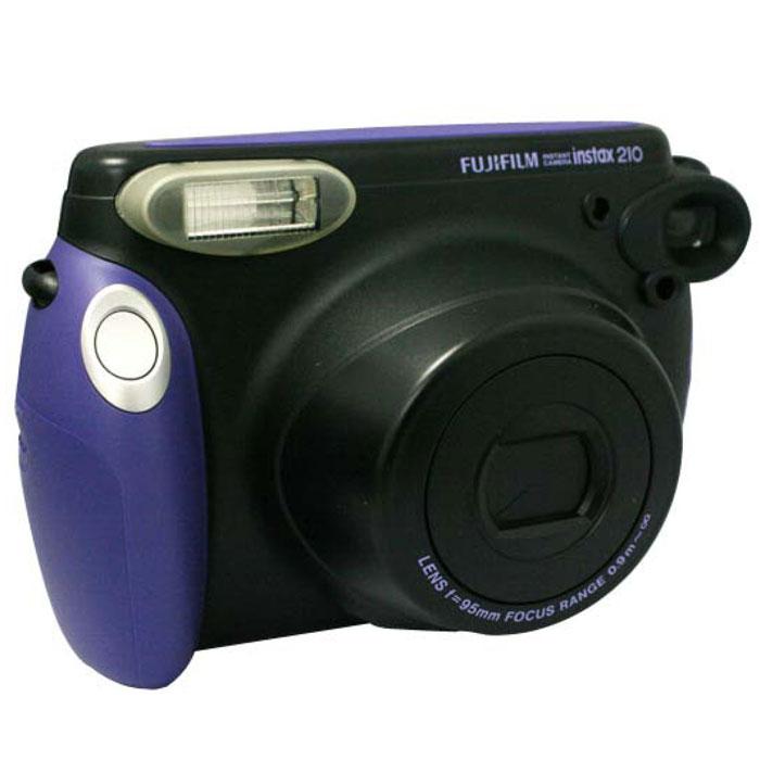 Fujifilm Instax 210, Halloween фотоаппарат моментальной печати16267545Широкоформатную камеру Fujifilm Instax 210 с функцией мгновенной печати можно использовать для съемки величественных пейзажей, празднеств с множеством гостей и даже для съемки на деловых мероприятиях. Такую стильную камеру не стыдно показать на любом торжестве. Встроенный выдвижной объектив расширяет ваши творческие возможности. Регулировка яркости/затемнения позволяет настраивать насыщенность цветов на конечной фотографии. В Fujifilm Instax 210 предусмотрен ряд других функций, таких как автоматическая электронная вспышка, регулирующая нтенсивность света в зависимости от расстояния, режим принудительной вспышки для снимков с контровым освещением и автоматически закрывающаяся крышка объектива. Фотопленка Fujifilm INSTAX Wide Размер снимка: 108 х 86 мм Размер изображения: 99 х 62 мм Автоматическая фокусировка Автоспуск Индикация расхода кадров Встроенная вспышка Дистанция для фокусировки: нормальный 0,9-3 м; пейзаж 3...