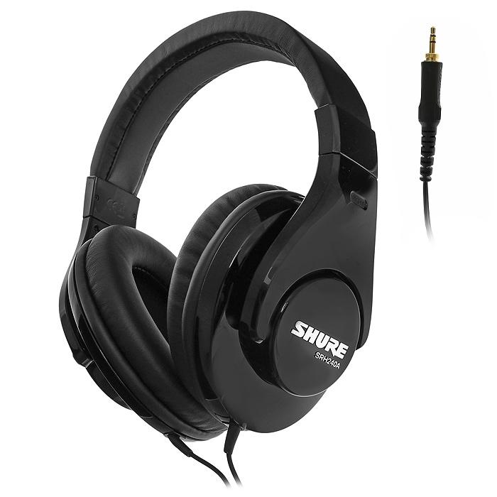Shure SRH240 наушники15113895Shure SRH240 - качественные наушники, обладающие великолепной звукопередачей. Мягкие амбушюры и удобное оголовье позволят носить наушники долгое время.