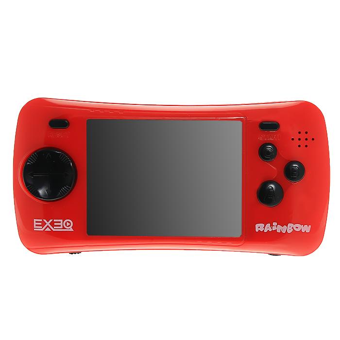 Портативная игровая консоль EXEQ Rainbow (красная)
