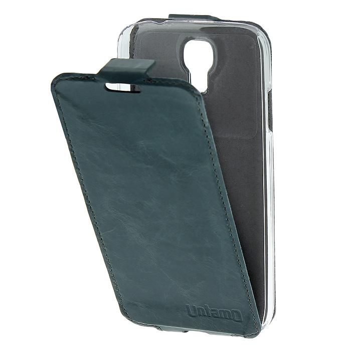Untamo Timber чехол-флип для Samsung GT-i9500/GT-i9505 Galaxy S4/S IV, Cloudy Ocean (UTIMFS4CLO)