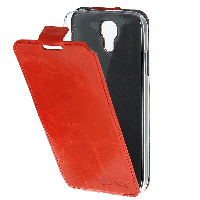 Untamo Timber чехол-флип для Samsung GT-i9500/GT-i9505 Galaxy S4/S IV, Coral (UTIMFS4COR)UTIMFS4CORКожаный чехол-флип Untamo Timber для Samsung GT-i9500/GT-i9505 Galaxy S4/S IV это легкий и стильный аксессуар, который создан, чтобы подчеркнуть совершенство смартфона от Samsung. Прозрачный держатель подчеркивает изящные формы Galaxy S IV и защищает его от любых механических повреждений, в том числе боковые стороны и углы устройства. Тонкий внутренний слой из микрофибры мягко удаляет отпечатки пальцев и пыль с экрана и создает дополнительную защиту. Разнообразие насыщенных цветов коллекции Timber удовлетворит даже самый взыскательный вкус. Натуральная кожа высокого качества Ручная работа Тонкость и точный раскрой Всесторонняя защита Легкость Легкий доступ ко всем разъемам и камерам
