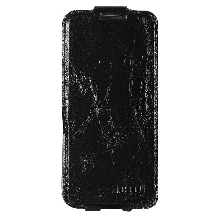 Untamo Timber чехол-флип для Samsung GT-i9500/GT-i9505 Galaxy S4/S IV, Black (UTIMFS4BL)
