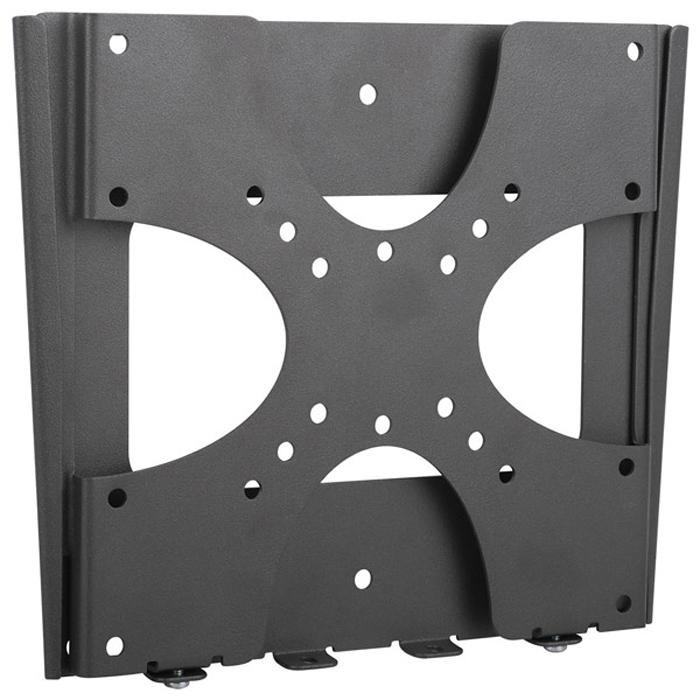Kromax VEGA-4, Grey кронштейн для ТВ20089Фиксированный кронштейн Kromax VEGA-4 представляет собой крепление с небольшой толщиной профиля, который подходит для большинства телевизионных LCD/LED и плазменных панелей с размером диагонали от 15 до 37 дюймов и максимальной массой до 35 кг. Это изделие отличается своей простотой и надежностью и характеризуется высокой стабильностью за счет простой компактной конструкции, незаметным крепежом благодаря размещению панели близко у стены. В комплект поставки крепления входит полный монтажный набор.