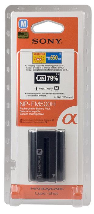 Sony NP-FM500HNP-FM500HС батареей длительного срока службы Sony NP-FM500H Вы не упустите драгоценные мгновения.