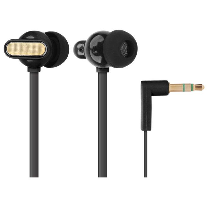 EXEQ HHC-001, Black наушникиHHC-001 BLEXEQ HHC-001 - наушники из серии Happy Color удивят меломанов не только своим достойным качеством звучанием, но и потрясающим дизайном с интересным выбором цветов. Благодаря эргономичному дизайну наушники плотно фиксируются в ушной раковине, что заглушает внешние источники звука и увеличивает положительные эмоции от прослушивания. Наушники так же имеют плоский, не спутывающийся 130 см кабель и прочный L-образный штекер с позолоченным 3.5 мм джеком. Яркий дизайн: EXEQ HHC-001 – наушники с потрясающим дизайном и яркой цветовой гаммой. На выбор предлагается четыре варианта цветового исполнения: синий, зеленый, розовый и черный. Яркий насыщенный цвет, плавная обтекаемая форма динамиков и стильная металлическая вставка делают наушники EXEQ HHC-001 поистине стильным и неповторимым аксессуаром для прослушивания музыки. Слушайте любимую музыку и наслаждайтесь внешним видом устройств ее передающих! Качество звука: Наушники EXEQ HHC-001 обеспечивают максимально...