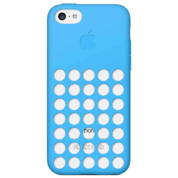 Apple iPhone 5c Case чехол для iPhone 5c, BlueMF035ZM/AСамовыражайтесь, как хотите, с цветными чехлами Apple iPhone 5c Case. Благодаря особому дизайну цвет телефона виден, поэтому Вам доступны не просто шесть цветов, а целых 30 ярких сочетаний. Предпочитаете классический чёрный или белый? Неожиданный розовый или жёлтый? Выбор только за Вами. Чехол имеет приятную на ощупь силиконовую поверхность снаружи и мягкую подкладку из микроволокна изнутри. Аккуратно выполненные отверстия в точности совпадают с динамиками. Чехол воспринимается как часть телефона, а не отдельно созданный для него аксессуар.