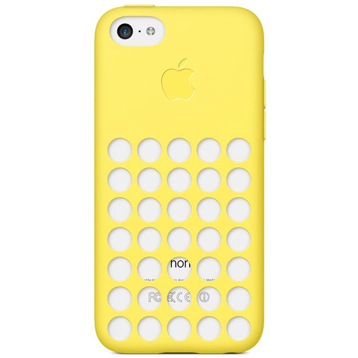 Apple iPhone 5c Case чехол для iPhone 5c, YellowMF038ZM/AСамовыражайтесь, как хотите, с цветными чехлами Apple iPhone 5c Case. Благодаря особому дизайну цвет телефона виден, поэтому Вам доступны не просто шесть цветов, а целых 30 ярких сочетаний. Предпочитаете классический чёрный или белый? Неожиданный розовый или жёлтый? Выбор только за Вами. Чехол имеет приятную на ощупь силиконовую поверхность снаружи и мягкую подкладку из микроволокна изнутри. Аккуратно выполненные отверстия в точности совпадают с динамиками. Чехол воспринимается как часть телефона, а не отдельно созданный для него аксессуар.